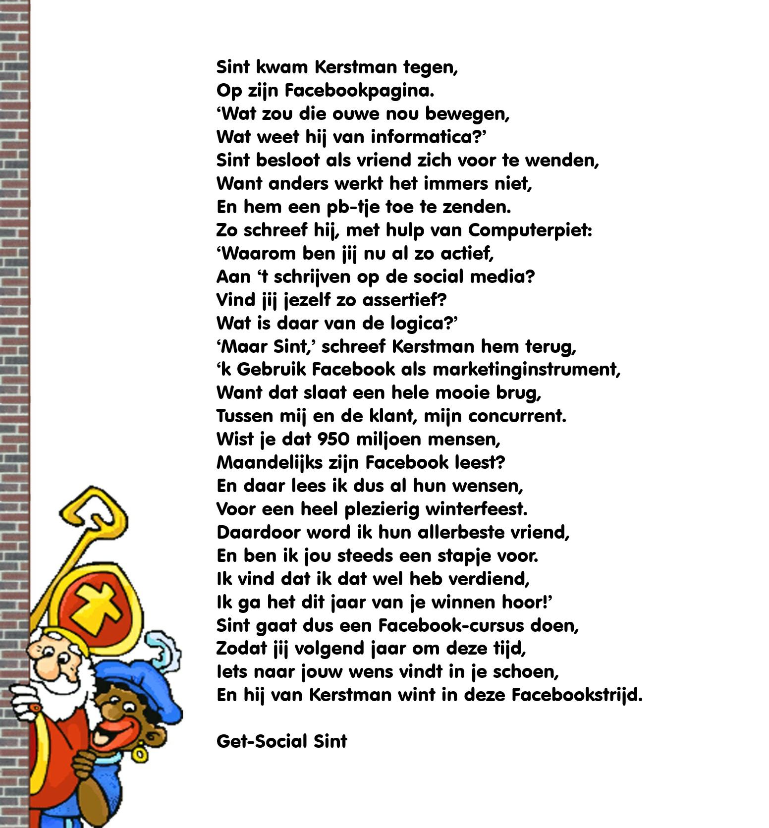 Sinterklaas Gedichten Surprise Make Up Archidev