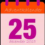 voor adventkalender dag 25-01