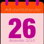 voor adventkalender dag 26-01