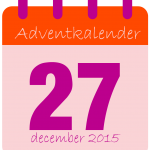 voor adventkalender dag 27-01