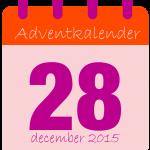 voor adventkalender dag 28-01