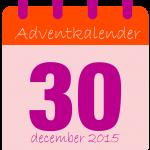 voor adventkalender dag 30-01