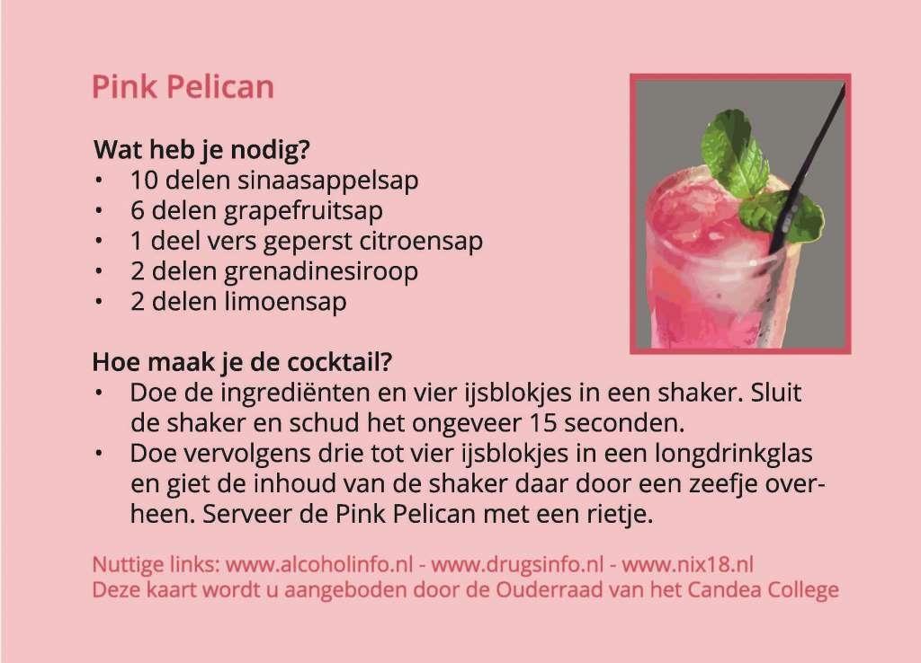 Kaart Pink Pelicancont kl