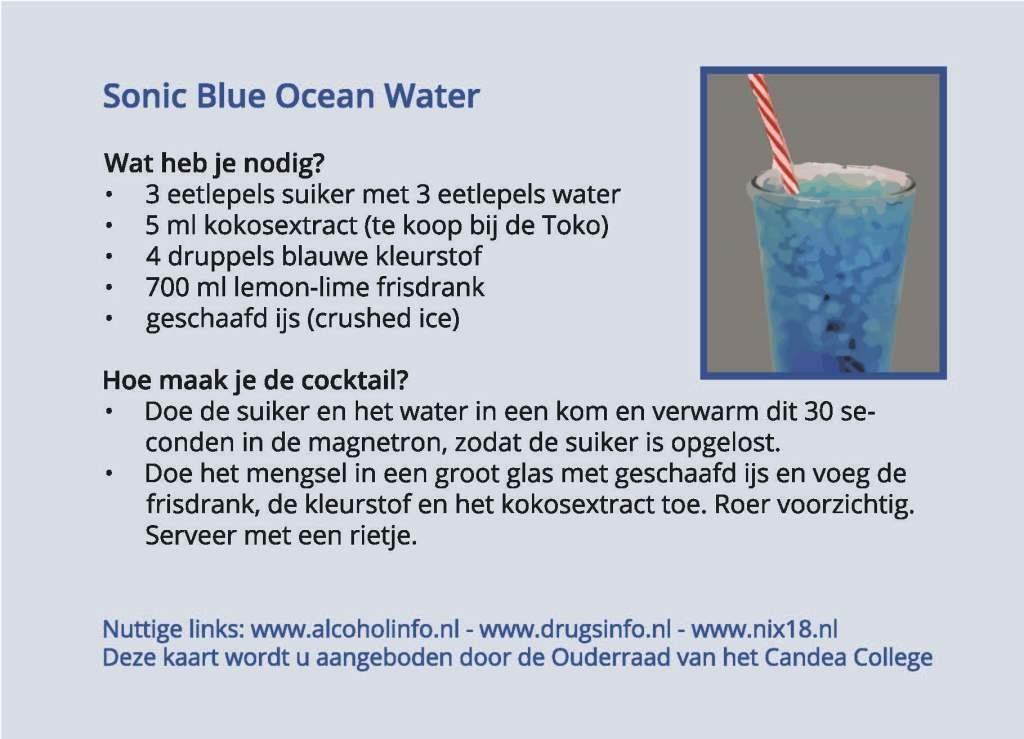Kaart Sonic Ocean Watercontkl